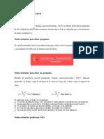 Medidas de Tendencia Central - ForO 1