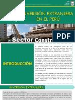 Inversion Extranjera Construccion Expo 1
