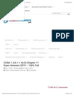 CCNA 1 (v5.1 + v6.0) Chapter 11 Exam Answers 2019 - 100% Full.pdf