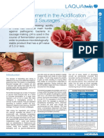 18 - PH Measurement in the Acidification Process of Fermented Sausages