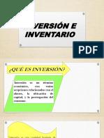 Inversión e Inventario
