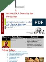 4 Mengelola Diversity & Perubahan