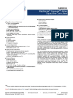 001-54607 CY8C201A0 CapSense Express Slider Capacitive Controllers Datasheet