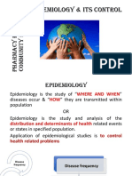 epidemiology and its control.pptx