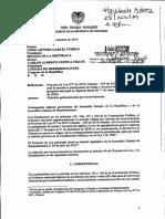 Duque objetó polémico artículo sobre educación de Ley de Presupuesto