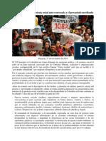 El Paro Nacional, La Protesta Social Auto-convocada y El Precariado Movilizado-convertido