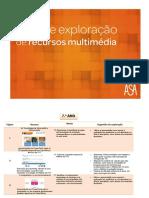 Guia de Exploração de Recursos Multimédia - 7.º Ano