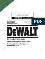 Manual Dewalt d28710