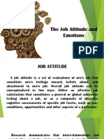 The Job Attitude And
