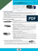 reglamento para vehículos de turismo