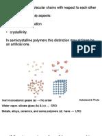 3. Polymer Crustallinity