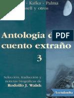 antologia del cuento extraño 3