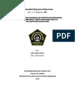 Tugas Metodelogi Penelitian Arif Widayanto 20201900014 (Gajadi Dipake)