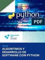 Algoritmos y Desarrollo de Software Python
