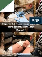 Eustiquio Lugo - Lugares del cuerpo más dolorosos para hacerte un tatuaje, Parte II.ppt