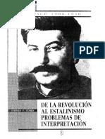 cohen de la rev al estalinismo