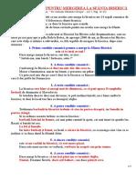 """Parintele Cleopa ILIE - """"CELE 14 REGULI PENTRU MERGEREA LA BISERICA"""""""