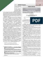 RESOLUCIÓN ADMINISTRATIVA Nº 122-2019-P-CE-PJ