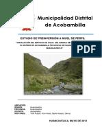 Municipalidad distrital de Acobambilla