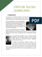 TECNOLOGIA DE CONCRETO - ALCALI AGREGADO