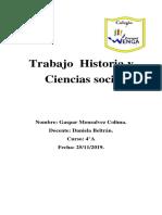 Trabajo Historia y Ciencias Sociales Gaspar
