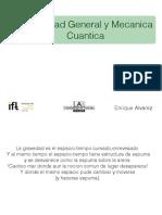 17. Relatividad General y Mecanica Cuantica - Universidad Autónoma de Madrid.pdf