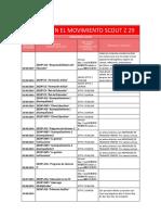 Adultos en El Movimiento Scout z 29
