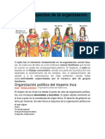 Algunos Aspectos de La Organización Social Inca