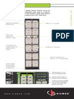 Distribucion de una red de datos en Rack de comunicaciones