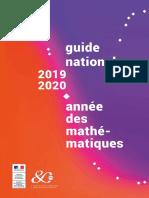 Guide National Année des Mathématiques