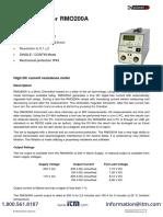 Dv-power Rmo200a Datasheet