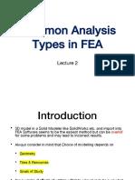 FEA Lecture