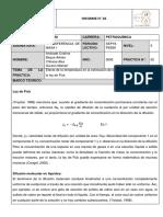 Efecto de la temperatura en la estimación de la difusividad másica mediante la ley de Fick