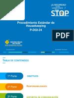 Presentation Estandar Housekeeping