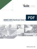 Telit Ge863 Hardware manual