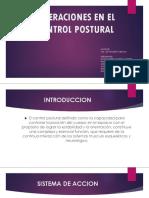 Alteraciones en El Control Postural