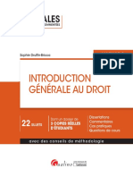 L1 - Corrigé introduction au droit