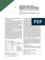 Algoritmo de Cetoacidosis Diabetica