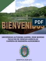 TEMAS DE genetica I - 2015