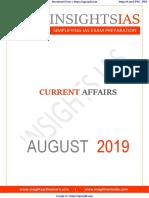 InsightsonIndia Aug 2019 Current Affairs