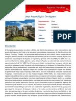 Recurso Turístico Aypate - Ayabaca - Piura - Perú.