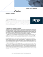 The Property Tax Lien