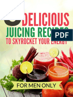 5 Delicious Juicing Recipes to Skyrocket Your Energy