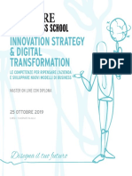 24 Ore Business School Innovation Strategy Digital Transformation
