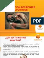 PREVENCIOS DE LESIONES DEPORTIVAS