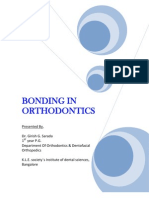 seminar on Bonding in Orthodontics Girish