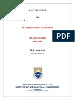 SFM Lecture Notes