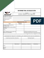 ICH-CERJ-F-008 R0 Informe Final de Selección
