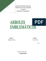 ÁRBOLES EMBLEMÁTICOS
