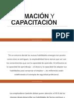 Capacitación y Formación Del Personal